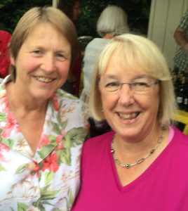 Doris and Senator Patty Murray at Sierra Club reception in Seattle