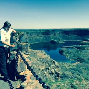 Doris will defend the Washington State's diverse and beautiful environment (pictured here at Dry Falls)